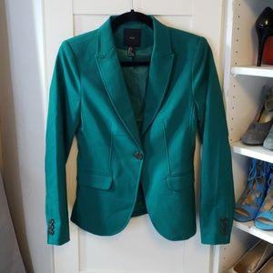 NWOT Emerald Green Blazer Small